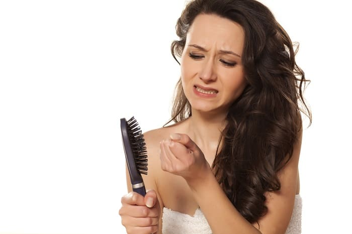 female hair loss causes