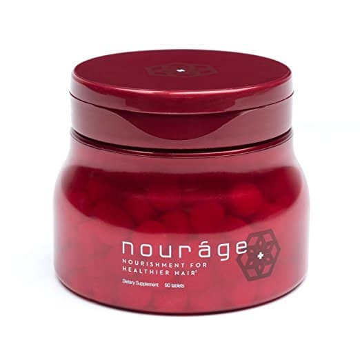 Nouráge Hair Growth Vitamins with Patented Keratin for Women and Men