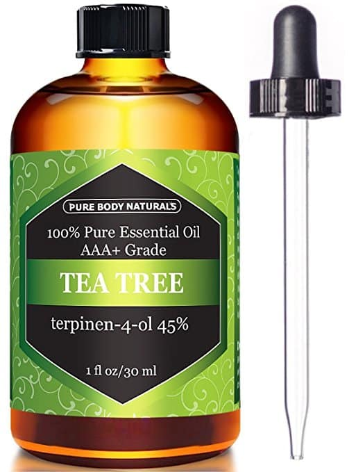 Pure Body Naturals Tea Tree Oil