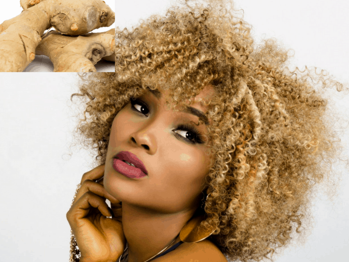 Ginger Hair Growth Stimulation Recipe
