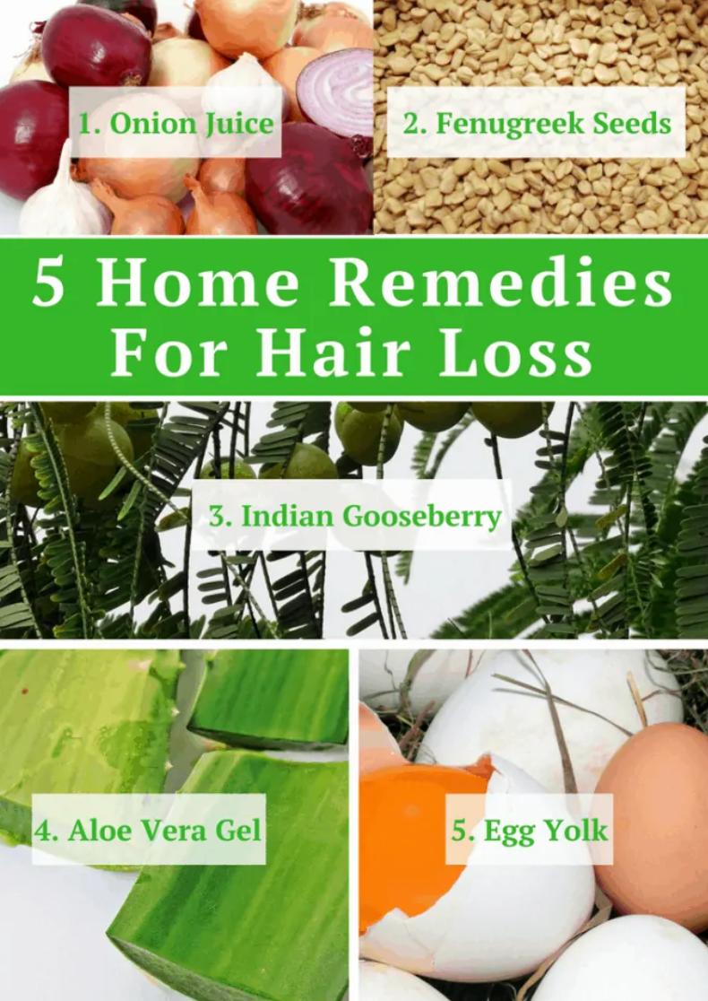 Natural Home Remedies For Thin Hair And Hair Loss