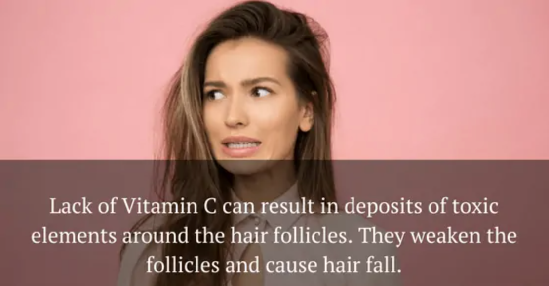 Vitamin Deficiency Causes Hair Loss and Brittle Nails