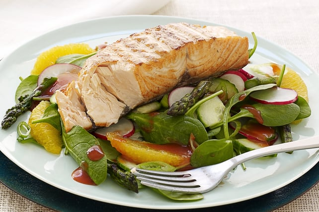 salmon salad for hair loss