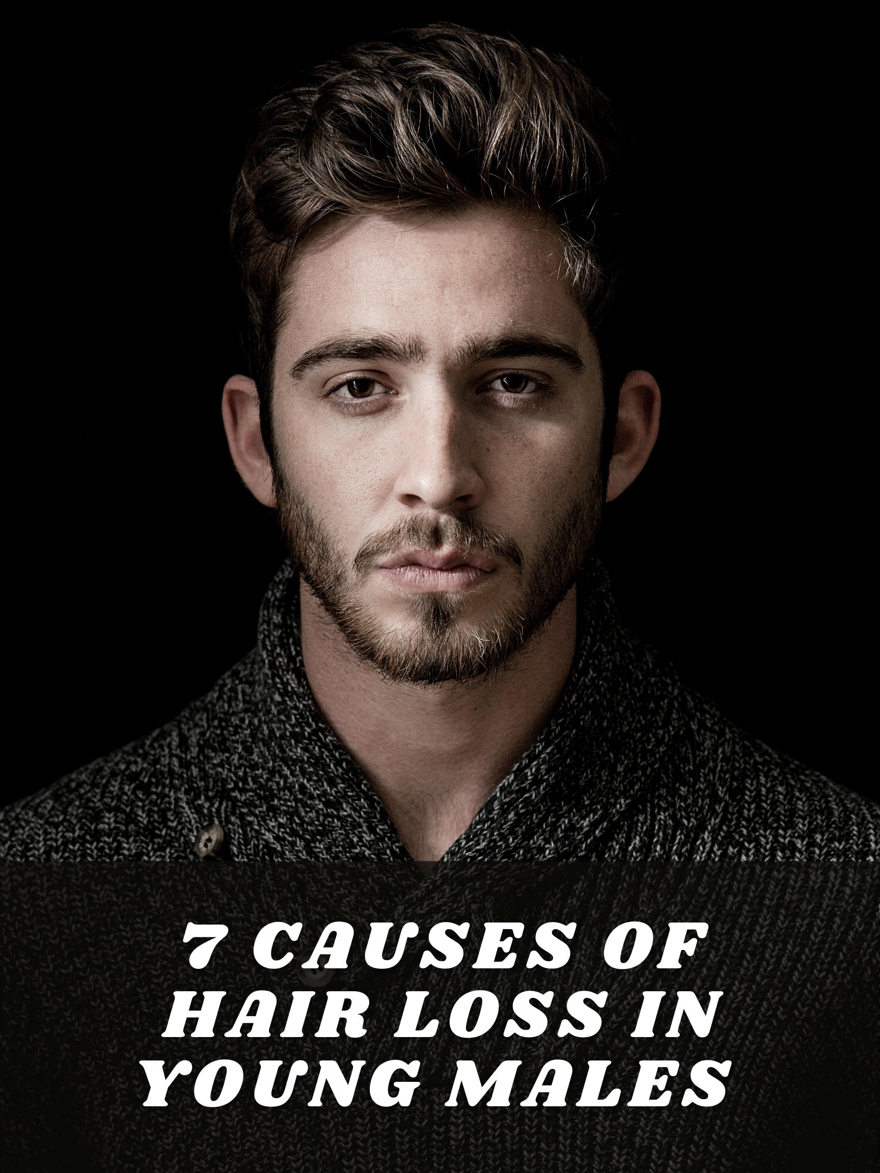 Reasons For Hair Loss In Men Under 25