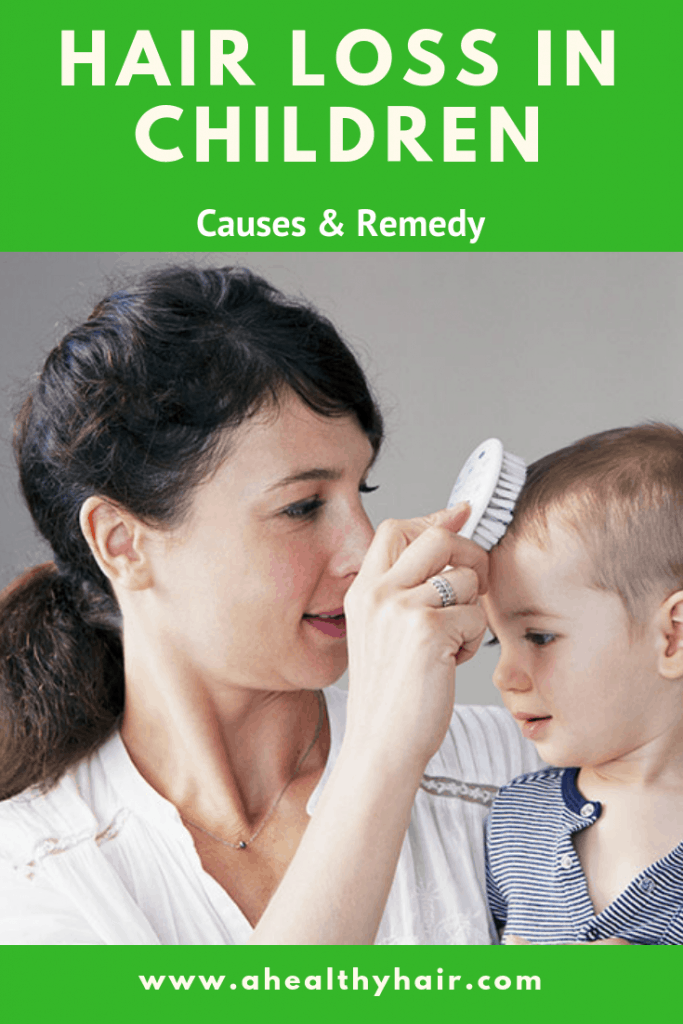 hair loss in children vitamin deficiency