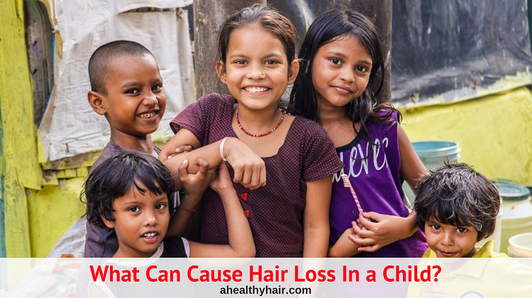 what can cause hair loss in a child