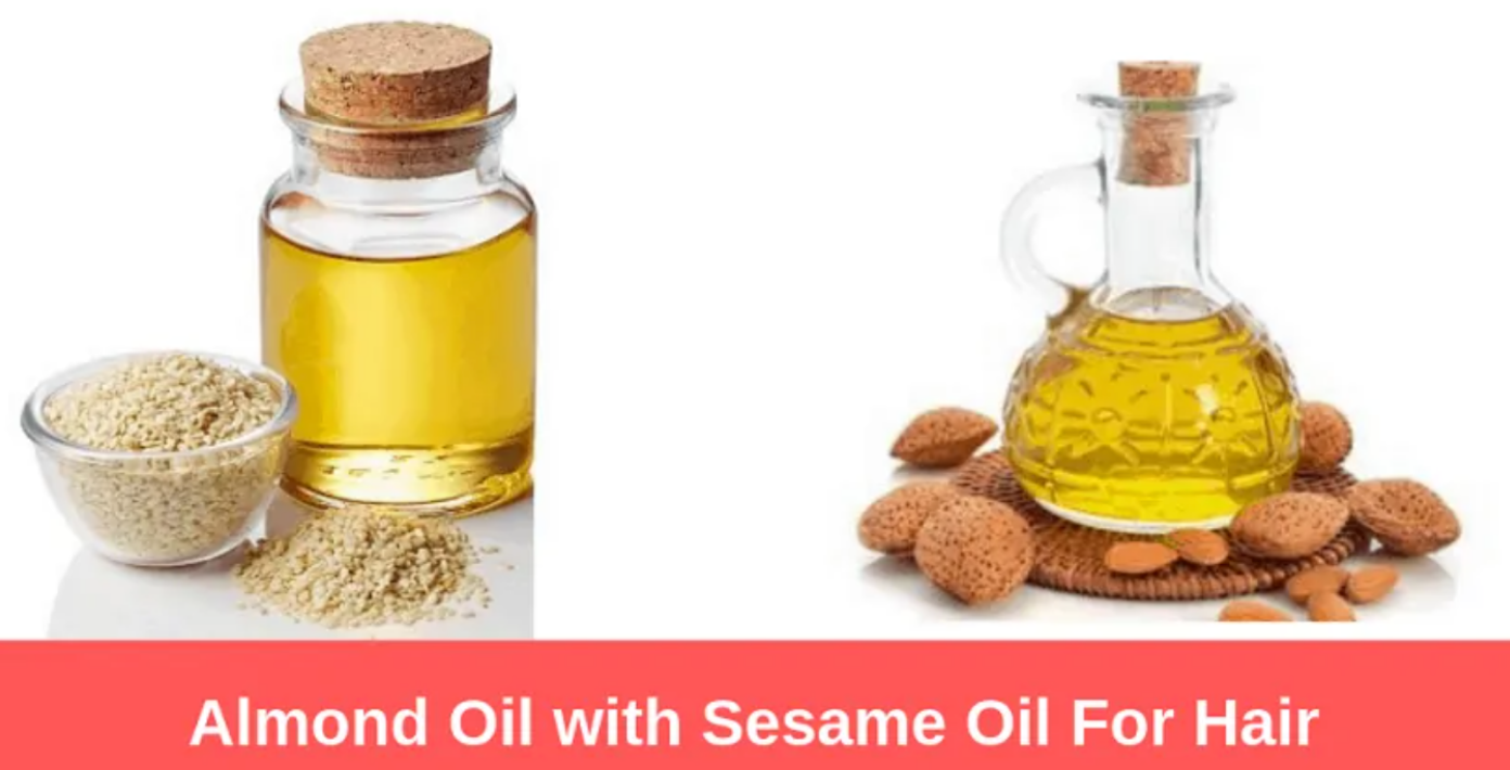 Almond Oil with Sesame Oil