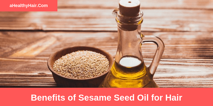 benefits of sesame seed oil for hair