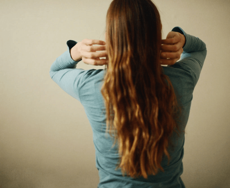 waist hair length